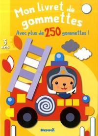Nadine Piette - Mon livret de gommettes Camion de pompier - Avec plus de 250 gommettes !.