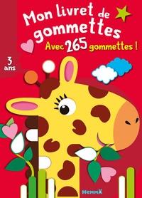Nadine Piette - Mon livret de gommettes Girafe - Avec 265 gommettes !.