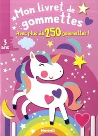 Feriasdhiver.fr Mon livret de gommettes Licorne - Avec plus de 250 gommettes! Image