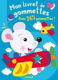 Nadine Piette - Mon livret de gommettes Souris - Avec 265 gommettes !.