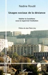 Nadine Roudil - Usages sociaux de la déviance - Habiter la Castellane sous le regard de l'institution.