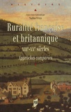 Nadine Vivier et  Vivier - Ruralité française et britannique XIIIe-XXe siècles - Approches comparées.