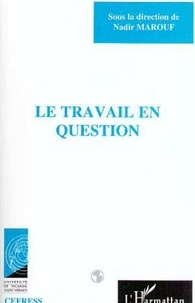 Nadir Marouf - Le travail en question.