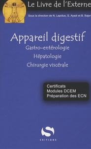 Naël Lapidus et Benjamin Bajer - Appareil digestif - Gastro-entérologie, Hépatologie, Chirurgie viscérale.