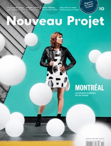 Nahid Aboumansour et Clayton Bailey - Nouveau Projet 10 - Automne-hiver 2016.