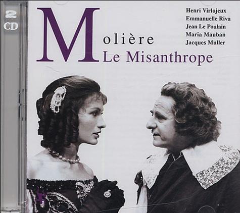 Molière et Georges Hacquard - Le Misanthrope - 2 CD audio.