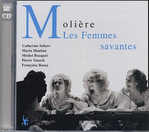 Molière et Georges Hacquard - Les Femmes savantes - 2 CD audio.