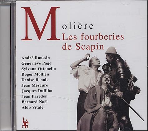 Les fourberies de Scapin  2 CD audio