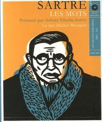 Jean-Paul Sartre - Les mots. 5 CD audio