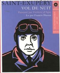 Antoine de Saint-Exupéry - Vol de nuit. 2 CD audio