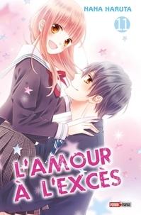 Nana Haruta - L'amour à l'excès Tome 11 : .