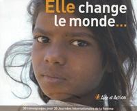 Nancy Barrett Saint-Laurent - Elle change le monde... - L'éducation permet aux femmes de changer le monde.