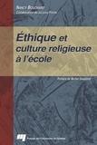 Nancy Bouchard - Éthique et culture religieuse à l'école.
