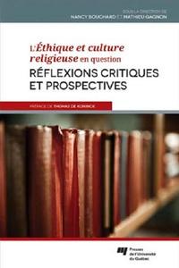 L'Ethique et culture religieuse en question- Réflexions critiques et prospectives - Nancy Bouchard | Showmesound.org