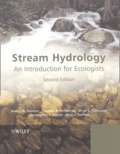 Nancy-D Gordon et Thomas McMahon - Stream Hydrology - An introduction for ecologists.