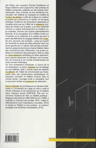 Théâtre dans la mondialisation. Communauté et utopie sur les scènes contemporaines
