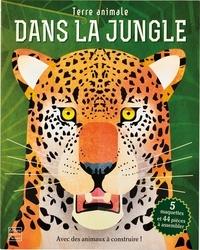 Nancy Dickmann et Paul Daviz - Dans la jungle - Avec des animaux à construire ! 5 maquettes et 44 pièces à assembler.