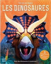 Nancy Dickmann - Les dinosaures - Avec des dinosaures à construire ! 5 maquettes et 66 pièces à assembler.