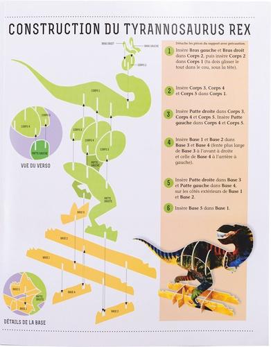 Les dinosaures. Avec des dinosaures à construire ! 5 maquettes et 66 pièces à assembler