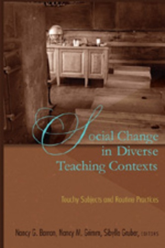 Nancy g. Barron et Nancy m. Grimm - Social Change in Diverse Teaching Contexts - Touchy Subjects and Routine Practices.