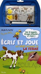 Nancy Gayle Carlson - Les bébés animaux de la ferme - Ecris et joue.