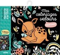 Histoiresdenlire.be Mes coloriages velours printemps - 10 tableaux à colorier Image