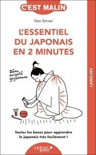 Nao Sensei - L'essentiel du japonais en 2 minutes - Toutes les bases pour apprendre le japonais très facilement !.