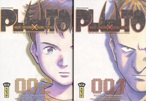 Naoki Urasawa et Osamu Tezuka - Pluto Tomes 1 et 2 : Pack en deux volumes dont un offert.