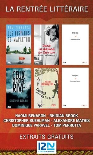 La rentrée littéraire de 12-21, l'éditeur numérique. extraits gratuits