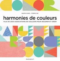 Harmonie de couleurs- Plus de 2500 associations de couleurs pour décorer et créer - Naomi Kuno |