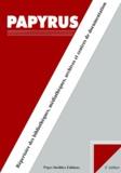 Naomi Suzuki et Nicolas Baghdadi - Papyrus 1999. - Répertoire des bibliothèques, médiathèques, archives et centres de documentation, 3ème édition.
