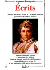 Napoléon Bonaparte - Ecrits.