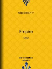 Napoléon Ier - Empire - 1806.