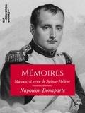 Napoléon Ier - Mémoires de Napoléon Bonaparte - Manuscrit venu de Sainte-Hélène.