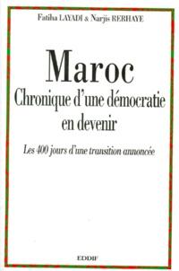 MAROC CHRONIQUE DUNE DEMOCRATIE EN DEVENIR. - 400 jours dune transition annoncée.pdf