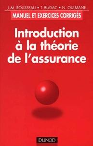 Galabria.be Introduction à la théorie de l'assurance. Manuel et exercices corrigés Image