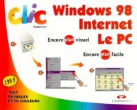 Galabria.be CLIC COFFRET 3 VOLUMES : WINDOWS 98. INTERNET. LE PC Image