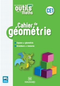 Natacha Besset et Patrice Gros - Cahier de géométrie CE1 Les nouveaux outils pour les maths.