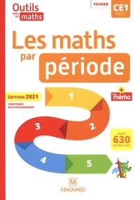 Natacha Besset et Laurence Guérin - Les maths par période CE1 - Fichier + Mon mémo.