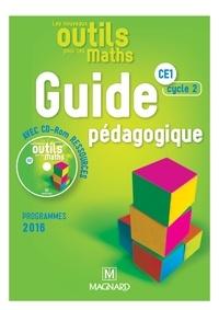 Natacha Besset et Laurence Guérin - Les nouveaux outils pour les maths CE1 cycle 2 - Guide pédagogique. 1 Cédérom