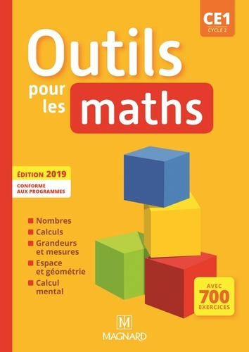 Outils pour les maths CE1 cycle 2  Edition 2019