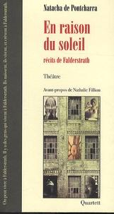 Natacha de Pontcharra - En raison du soleil - Récits de Falderstrath.