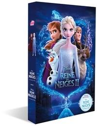 Natacha Godeau et Vanessa Rubio-Barreau - La Reine des Neiges  : Coffret en 2 volumes : La Reine des Neiges le roman du film ; La Reine des Neiges II le roman du film.