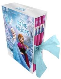 Natacha Godeau - La Reine des Neiges  : Coffret en 3 volumes - Tome 1, Les pouvoirs d'Elsa ; Tome 2, Dans les neiges éternelles ; Tome 3, Retour au château d'Arendelle.