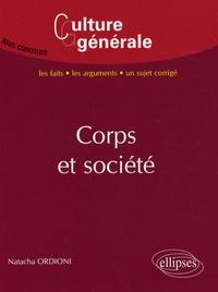 Natacha Ordioni - Corps et société.