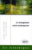Natacha Ordioni et Isabelle Chapellière - Le changement social contemporain.