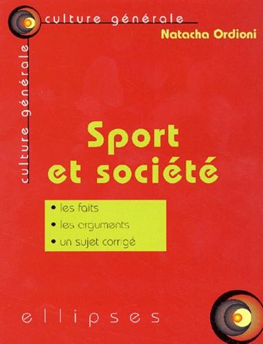 Natacha Ordioni - Sport et société.