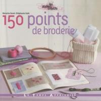 Natacha Seret et Stéphanie Voët - 150 points de broderie.