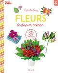 Natacha Seret - Fleurs en papier crépon.