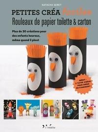 Natacha Seret - Rouleaux de papier toilette & carton.